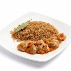 Dinde à l'estragon et quinoa
