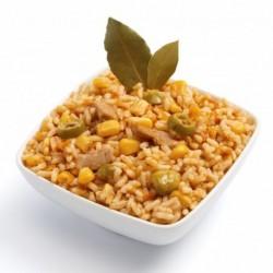 Salade de riz et dinde