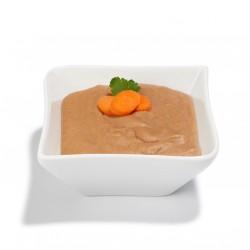 Long life sterilised low-salt minced dishes