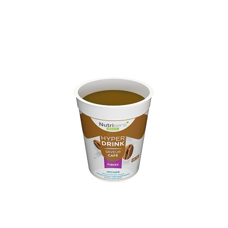 Hyperdrink, fibre-rich lactose-free